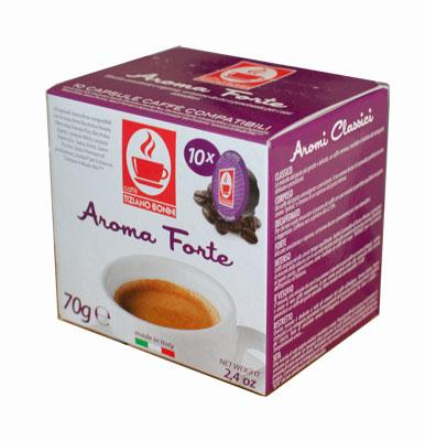 מפואר תואם לוואצה מיו – bonini Aroma forte – 4coffee   מכונות קפה – קפה BK-23